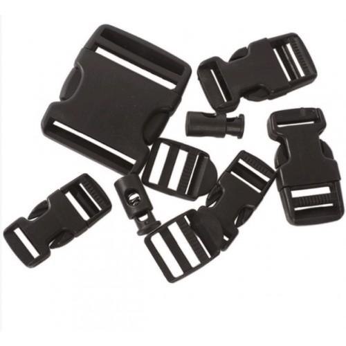 Set de boucles de remplacement noir