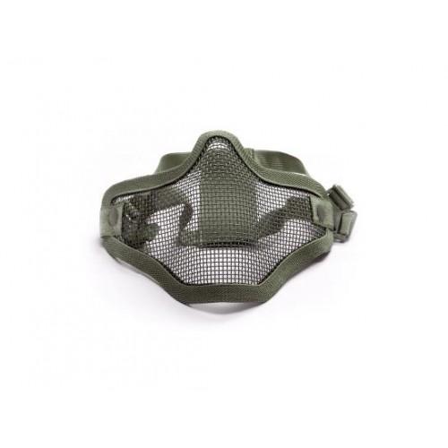 Masque en metal mesh half od