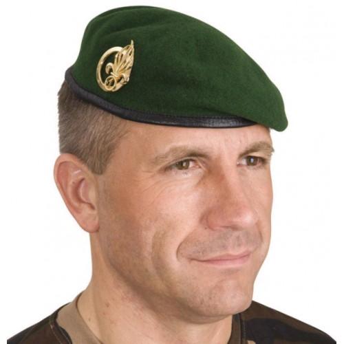 Militär Beret grün