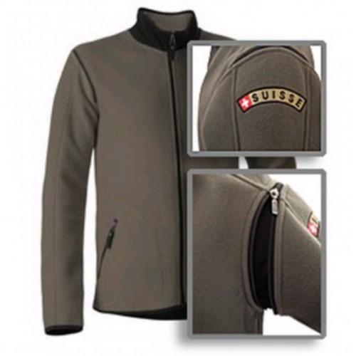 Army fleece-jacket