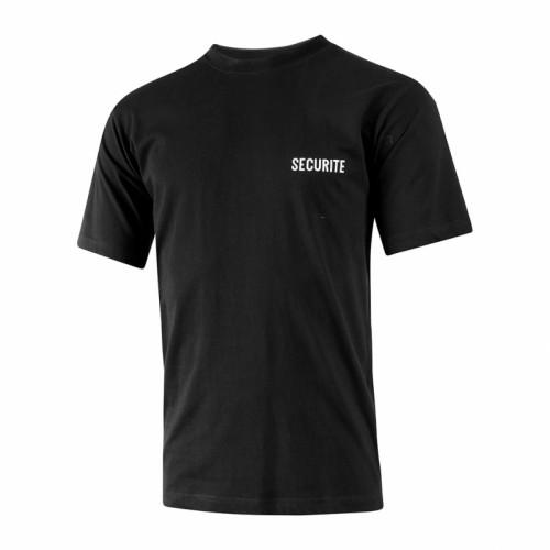 T-Shirt Sécurité noir