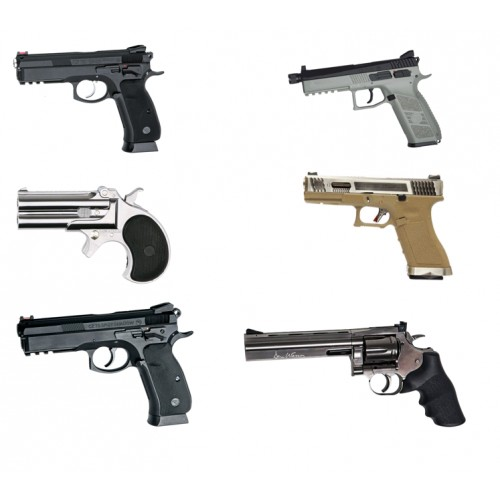 ARMES DE POING AIRSOFT