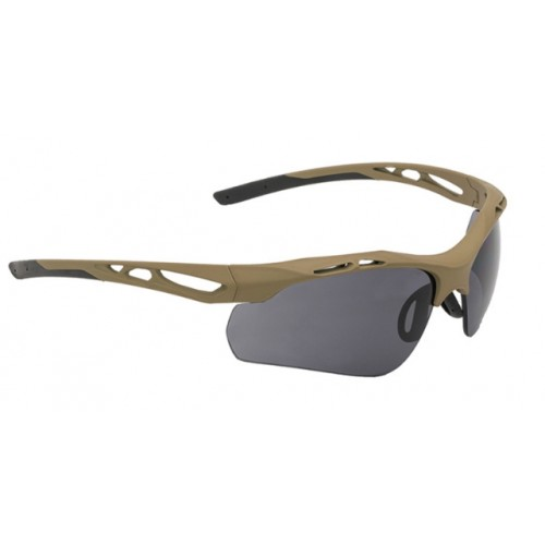 Lunettes tactique Swiss Eye Attac coyote