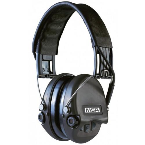 Casque anti-bruit MSA noir Suprême Pro