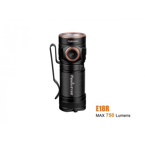 Lampe Fenix  E18R, 750 lumens, rechargeable