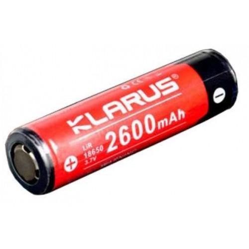 Batterie Klarus 18650 2600mAh 3.7V rechargeable