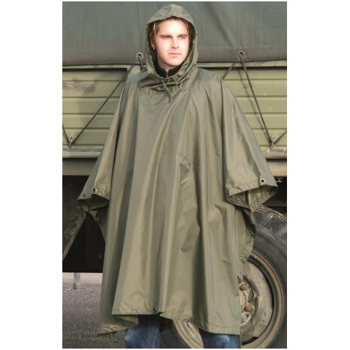 Poncho ripstop olive