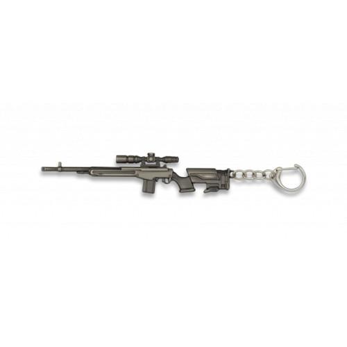 Porte-clés fusil, 12,3cm 09879