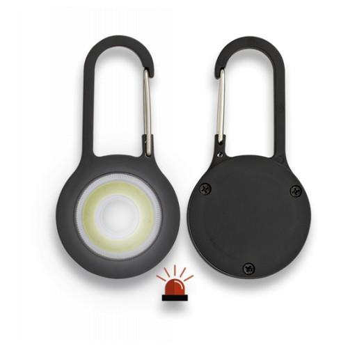 Mousqueton avec lampe torche 099001