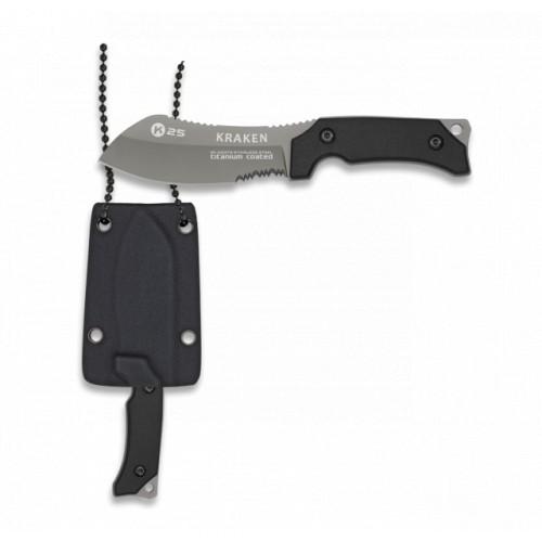 Couteau tour de cou titane kydex 32373