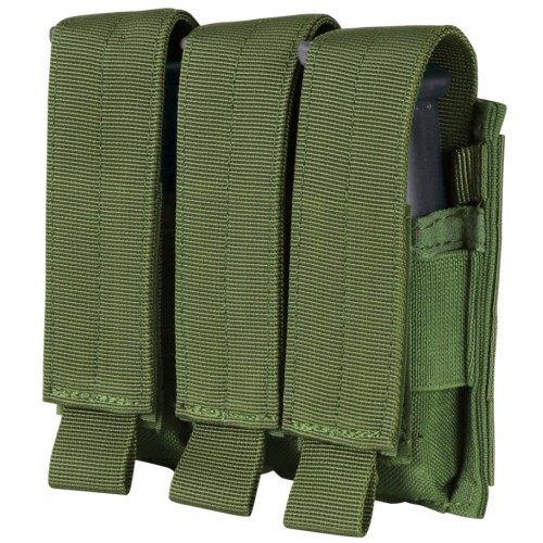 Triple poche magasin pistolet olive